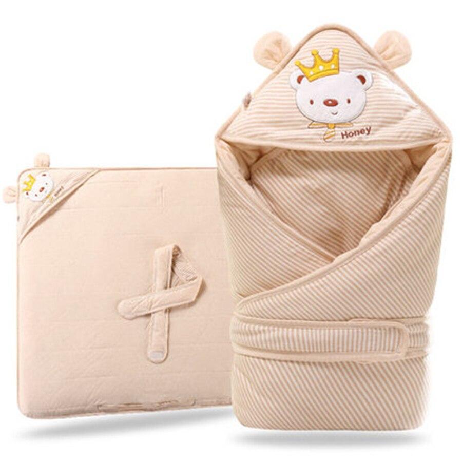 Baby Swaddling Blanket Newborn Super Infant Wrap Envelope For Newborns Cute Spring Summer Blankets Newborn Super Soft 70X0089<br>