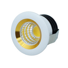 10pcs/Lot COB Led Downlight 3W Mini Cabinet Lamps Ceiling Spot Light With LED Driver White Warm White AC85-265V