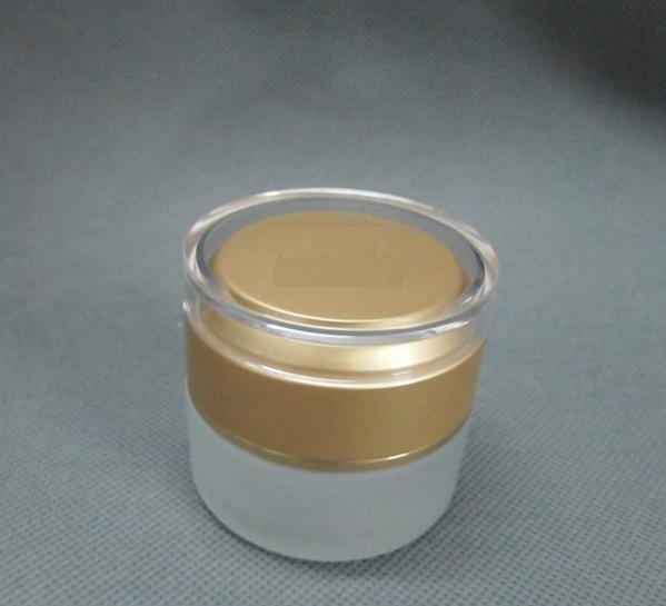 30g golden glass frosting cream jar packing bottle,Cream box / bottle<br>