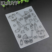 The Baby Car Plastic Embossing Folders for DIY Scrapbooking Paper Craft/Card Making Decoration Supplies(China)