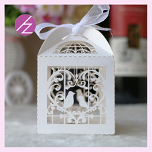 50pcs/lot Best Quality candy tin box candy gift box alibaba china wholesale with love two birds TH-4(China)
