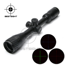 Hawke 2.5-10X40 AOIR Tactical Optical Sniper Riflescope Red &Green&Blue Illuminated Reticle Fiber Sight Rifle Scope for Hunting