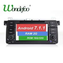 Android 7.1 Car DVD Player Multimedia For BMW/E46/M3/MG/ZT/3 Series Rover 75 Canbus Wifi GPS Navigation Radio 2G 32G IC 7851(China)