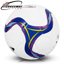 CROSSWAY Kids Children Soccer Ball Size 3 Sewing machine Football Ball PU Youth Student Soccer Balls Amateur Training Foot Ball(China)