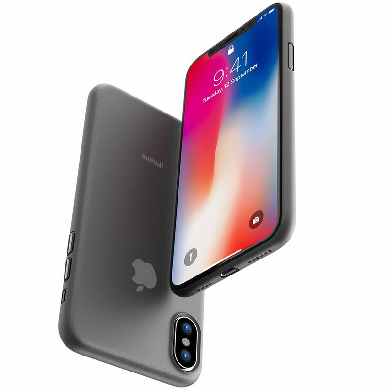 Portefeuille for iPhone X Case PP Ultra Thin Protect Hard Case for iPhone 10 8 Plus 7 6 6S 5 5S se Matte Slim Cover Cases Coque (6)