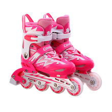 Youth Outdoor Skating Shoes Inline Skates Roller Skating Shoes Unisex Durable Slalom/Braking/FSK Hockey Patines Rollerblading(China)