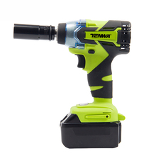 TENWA18V Brushless Electric Impact Wrench Cordless Rechargeable Lithium Battery Car Socket Impact Digital Electric Wrench
