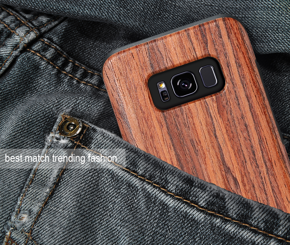 wood pattern soft tpu case for samsung s8 s8 plus (14)