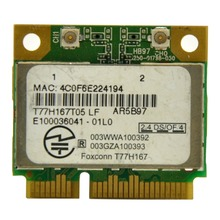 Atheros AR9287 AR5B97 802.11 b/g/n 300Mbps Wireless Half Mini Pci-E Express WiFi Card for Laptop PC