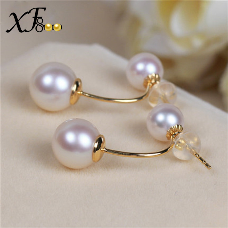 XF800-Natural-AKOYA-SEA-Pearl-Earrings-8-5-9mm-Big-Size-Double-Side-Earrings-Real-18K (1)