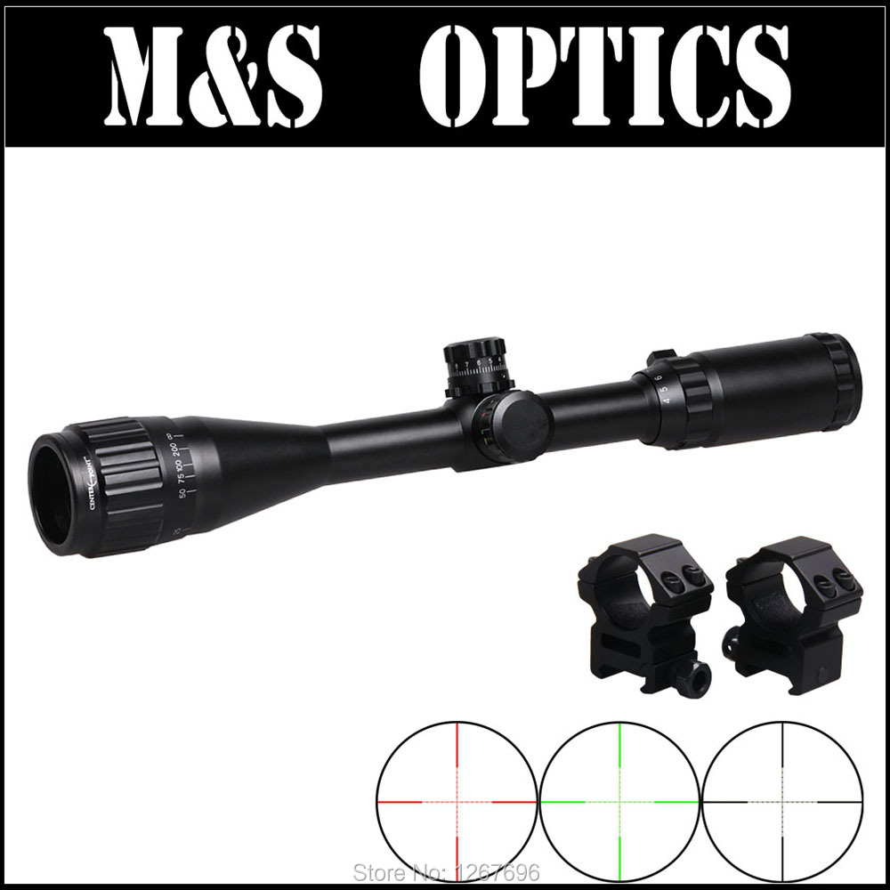 4-16X40 AO IR G uminator Airsoft Air Guns Optical Sight Rifle Scope Hunting Riflescopes With 11mm / 20mm MountFor Outdoor Hunter<br><br>Aliexpress