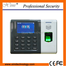 Hight quality Office devie fingerprint time attendance terminals with SMS high-speed CPU TCP/IP communication biometric clock
