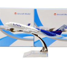 LAN Airlines Boeing 737-800    16cm model airplane kits child Birthday gift plane models toys  Christmas gift
