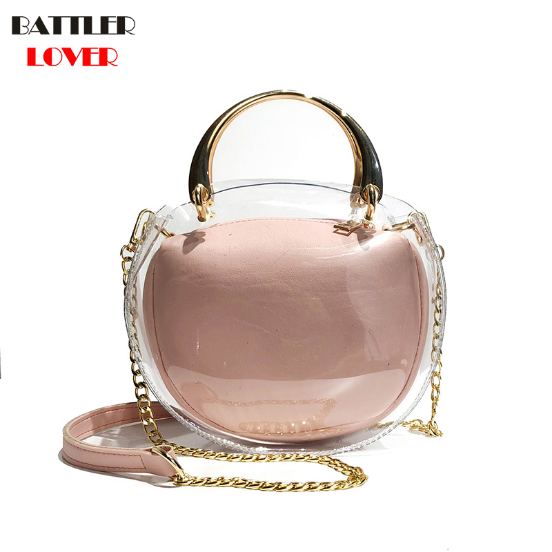 New Womens Bags Summer Handbags Composite Bags Girls Shoulder Messenger Bag Women Bag Mujer PU+PVC Handbag for Women 2018