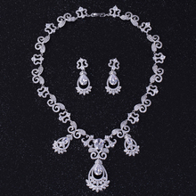 Women High Quality Nigeria White Gold Jewelry Set For Bridal  2016