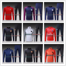 NEW 2018 reals survetement football barcelonaes training suit chelseas city france atletico psg soccer tracksuit madrides(China)