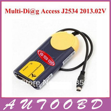Newest 2013.02 Version Actia Multi diag Access J2534 Pass Thru OBD2 Device Multi-diag Multi-Di@g on sale Multidiag v2013.02(China)