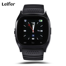 Smart watch M26 Bluetooth Smart Watch Wearable Devices for iPhone IOS Android Windows Phone Life Waterproof Passometer Fitness(China)