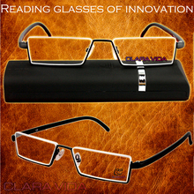 !!10 pieces spectacles!! TR90 Up-half Rim Cozy Ultralight Portable men women reading glasses +1 +1.5 +2 +2.5 +3.0 +3.50 +4.0(China)