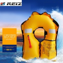 REIZ Inflatable Life Vest Jackets For Adult Men Outdoor Water Sports Rescue Vest Safe150N Boating Drifting Buoyancy Accessory(China)