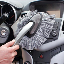 Multi-Functional Microfiber Car Duster Brush Cleaning Dust Mop Auto Cleaning Tools Product Free Shipping