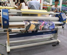 Hot Films laminating machine with High Temperature For Outdoor Advertising Paper FY-1600A(China)