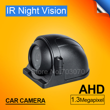 Best Selling Front/ Side View CCTV Waterproof Camera Right/Left CCD IR AHD Camera For Car /Bus/Police Car/Taxi
