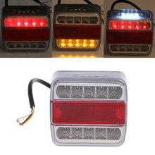 Car-Styling DC 12V 14 LED Truck Car Trailer Boat Caravan Rear Tail Light Stop Lamp Taillight(China)