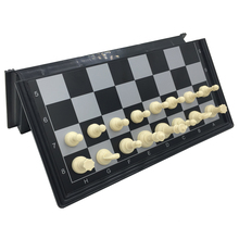 Mini Folding Chess Games Board Size 19.5 cm*19.5 cm Magnetic Pieces Portable Travel Chess Set 3321M Size S(China)