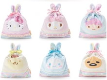 New Sanrio Cartoon Hello Kitty Cat Small Bag for Kids Gifts Bags, Melody Cinnamoroll bag Candy Pouches for Baby Dolls