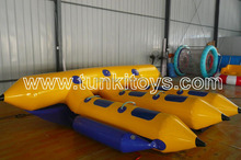 Commercial inflatable water games, water flyfish for rentals