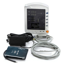 Contec CMS5100 3-Parameters ICU Patient Monitor, Pulse Rate, SpO2, NIBP Medical Monitoring Device