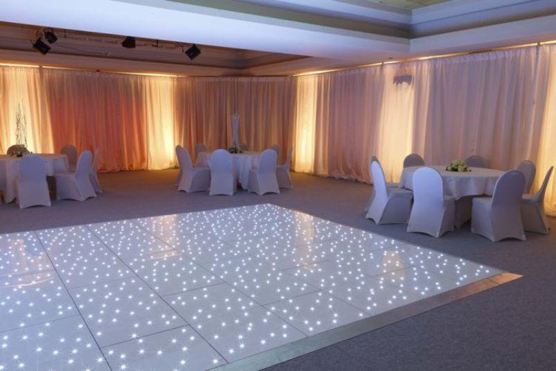LED Starlight Dancefloor For Hire Merseyside Cheshire Lancashire Wedding<br>