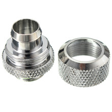 High Quality Best Price G1/4 Computer Water Cooling Compression Fitting For 9.5X12.7 Tubing Pipe Tube Pipes