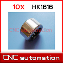 10pcs HK1616 Needle Bearing 16mm x 22mm x 16mm TLA1616Z RHNA162216 for 16mm shaft
