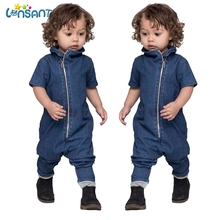 LONSANT Newborn Baby Clothes Cotton Baby Rompers Denim Jumpsuits Childrens Clothing Casual Kids Clothes Boys Dropshipping 6-24M