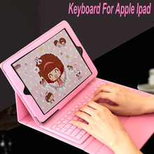For Apple Ipadmin 1/2/3 IPad 2/3/4 Wireless Bluetooth Silicone Flexible Foldable Keyboard Cover Tablet Shell