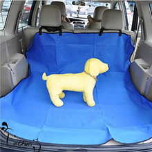 Five colors optional Waterproof Oxford Auto Car Trunk Mat / Back Seat Cover For Pet Dog 2017 New Design Dual-use Mats