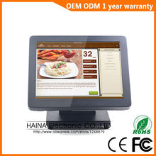 15 inch Metal All In One Pos System Software for Restaurant POS Machine All in one PC(China)