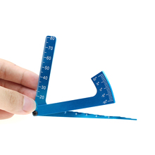 Adjustable Ruler Measure RC Car Height & Wheel Rim Camber tools for 1/10 1/8 HSP HPI Traxxas Tamiya Kyosho RC On-road Car