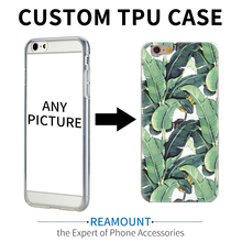 700 pcs wholesale DIY mobile phone case soft TPU case for iPhone 6 custom design cell phone case for iphone 7 7 plus(China)