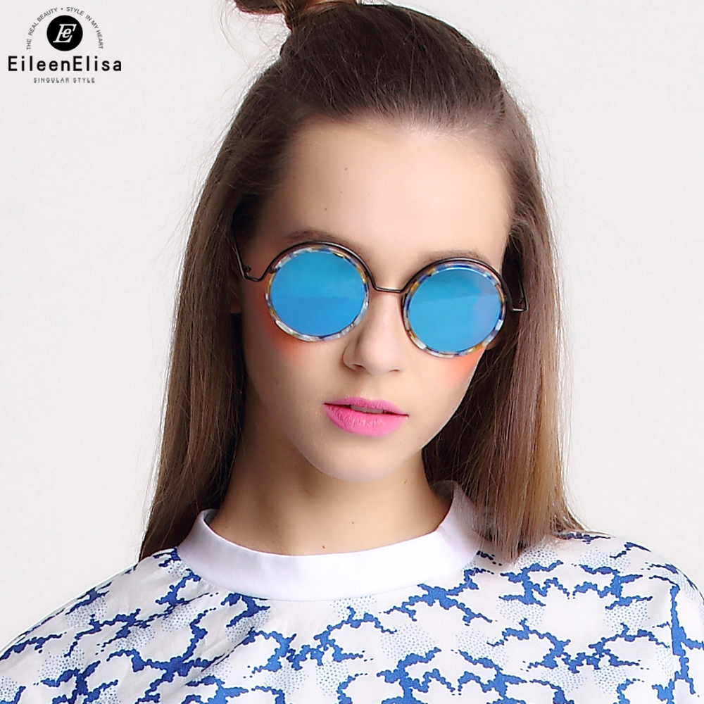 EE New Women Retro Round Alloy Frame Sunglasses Brand Designer Women Round Sunglasses Polarized Oculos De Sol<br><br>Aliexpress