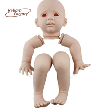 24'' Rarely Fridolin Soft Vinyl  Reborn Baby Toddler Doll Kits Accessories Without Jointed Body Limited DIY Child Toys