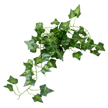 SZS Hot 2m Feet Artificial Ivy Fake Foliage Leaf Flowers Plants Garland Garden Decoration 2m (Sweet potato leaf)(China)
