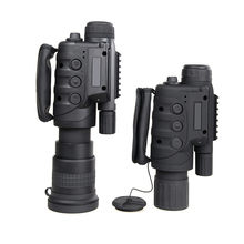 High Quality 4X 8X Magnification HD Optics Digital Night Vision Monocular Spotting Scope Camera & Camcorder Function Telescope(China)