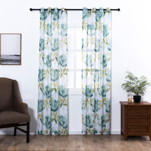 Sinogem News Tulle Curtains For Living Room Home Textile Children Bedroom Decorations Window Curtain Kitchen Treatments(China)