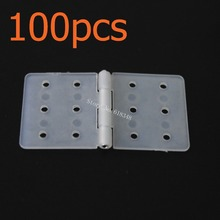 100pcs/Lot Nylon Pinned Hinge 20x36mm RC Airplanes Parts Electric Model Plane Aeromodelo FM12-202