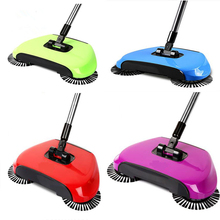 Sweeping Machine Magic Broom Dustpan Handle Push Magic Broom Without Electricity Robotic Home Hard Floor Sweeper Cleaner Tool