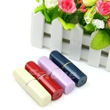 Hot New Secret Lipstick Shaped Stash Medicine Pill Pills Box Holder