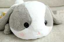 Kids Baby Holiday Christmas Gift Children 50CM One Piece Rabbit Bunny Plush Toy Pillows PP Cotton Stuffed Baby Soft Kawaii Plush(China)